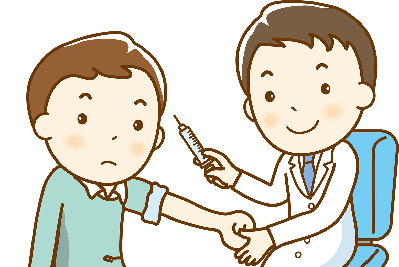 インフルエンザの予防接種は11月から